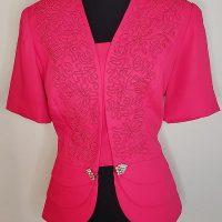 Justin Taylor Women's Pink Blazers (Jackets)