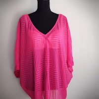 Bisou Bisou Butterfly Pink top
