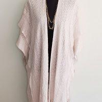 Just be… Knit Kimono