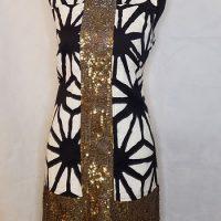 Women's Tabitha Sleeve-Less Sequin Dress