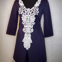 V-Neck lacey detailed Dress