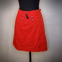 Cache Over The Knee Red Skirt