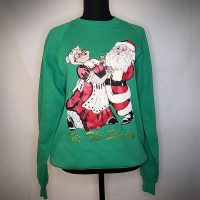 Green Christmas Sweater Size L