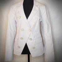Women's Long Sleeves Work Blazer Casual Buttons Jacket