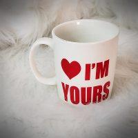 Heart I'm yours Coffee Mug