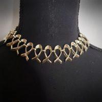 Women Choker Gold Necklace