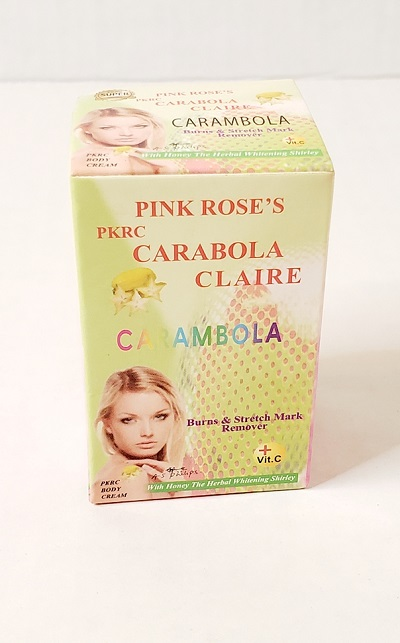 Pink Rose's Carabola Claire Whitening Face cream 2