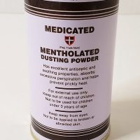 Medicated Mentholated Dusting Powder