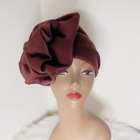Fashionable Turban With Bow
