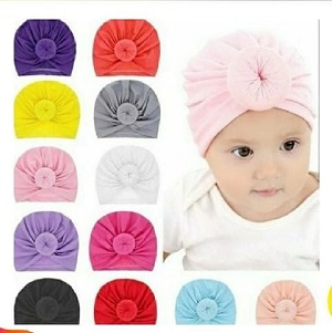 A Beautiful Girl's Turban Hats