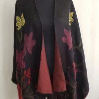 WestBound Women's Wool Shawl Wrap (One Size)
