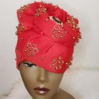 Women's Modern Turban/Hat (Red)