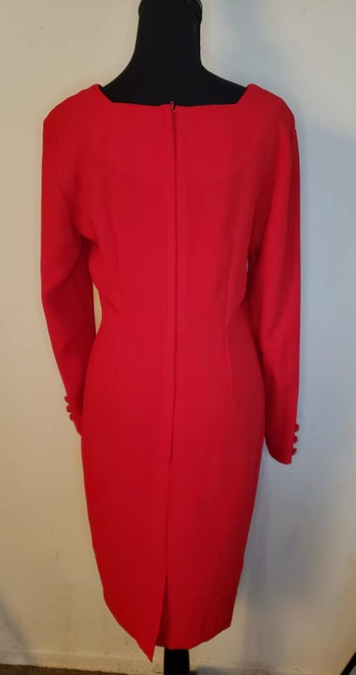 Robbie Bee Red Dress Size 4 4