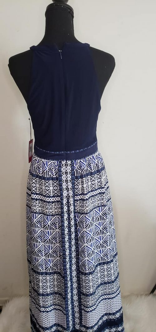 Vince Camuto Blue Maxi Dress Size 8 6
