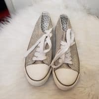 Women's Glittery Sneakers Size 9M