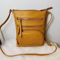 Womens CrossBody Yellow Small Bag