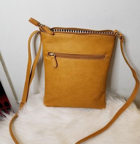 Womens CrossBody Yellow Small Bag 4