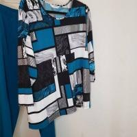 Allison Daley Women's Plus Size 2 Piece Outfit Size 16W