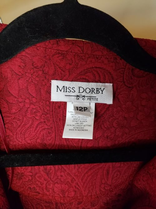 Miss Dorby 2 Piece Skirt Suits Size 12P 6