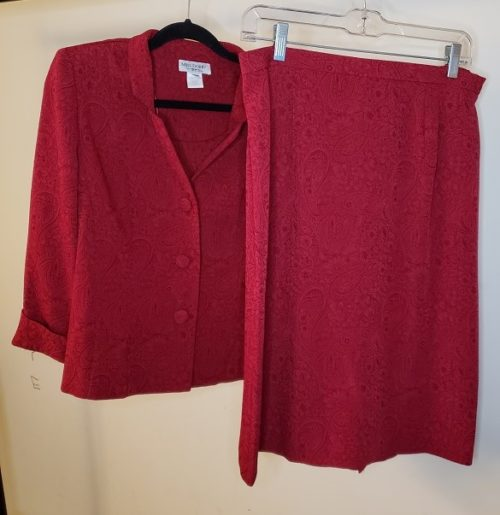 Miss Dorby 2 Piece Skirt Suits Size 12P 3