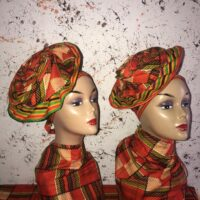 Kente African Head Wrap