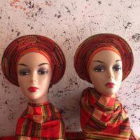 Kente African Head Wrap