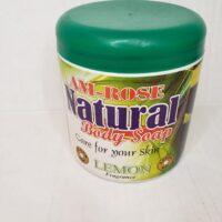AM-ROSE Natural Body Soap (Black Soap)