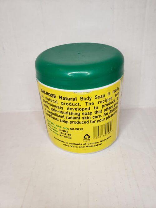 AM-ROSE Natural Body Soap (Black Soap) 4