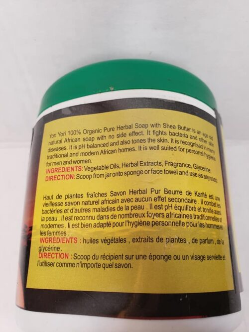 Yori Yori Organic Whitenizing Black Soap 4