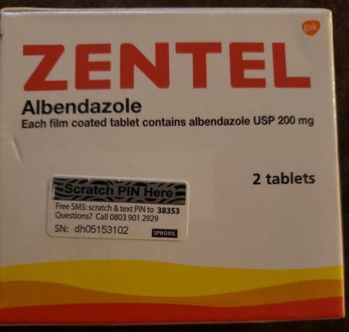 Need to Deworm? Zentel 2