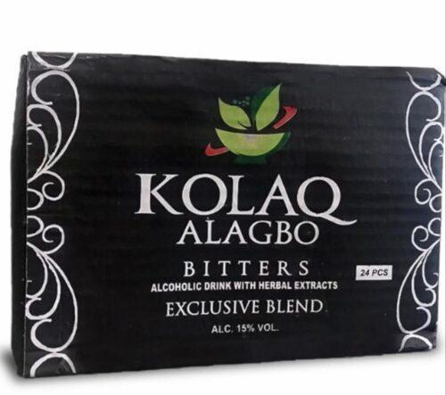 1/2 PACK KolaQ Alagbo Bitters 200ML 3
