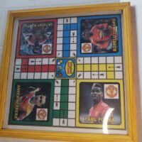 Ludo Game Board With Glass