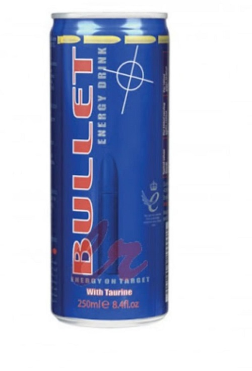Pack Bullet Enegy Drink with Taurine (Blue) 3