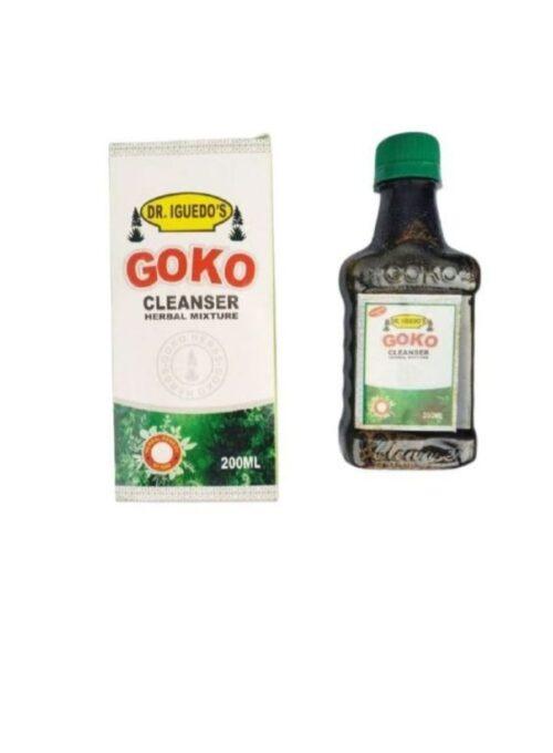 Goko Cleanser Herbal Mixture 200ML 3