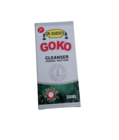 Goko Cleanser Herbal Mixture 200ML 4
